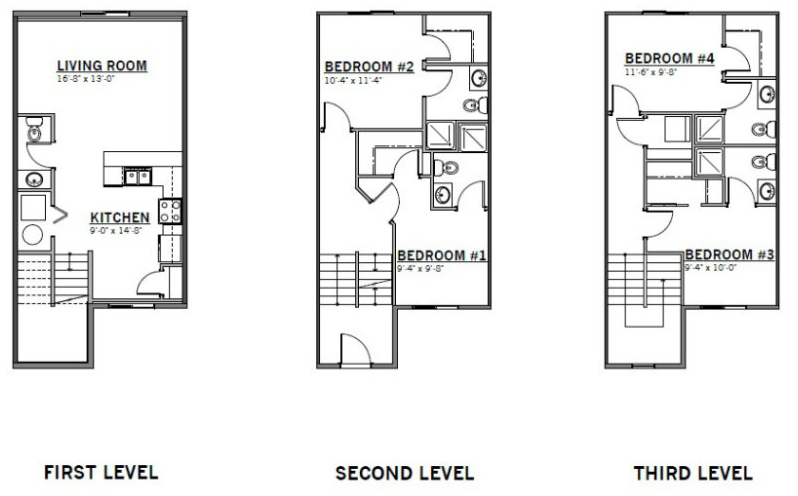 Traditional Floor Plans